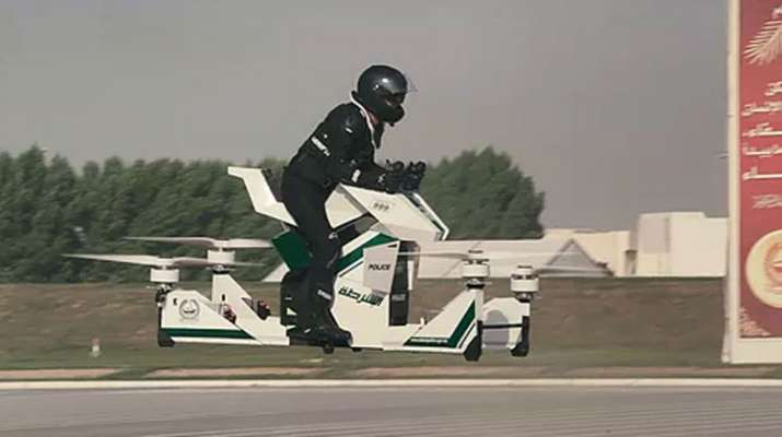 Scorpion 3 is the world's first flying electric hoverbike- India TV