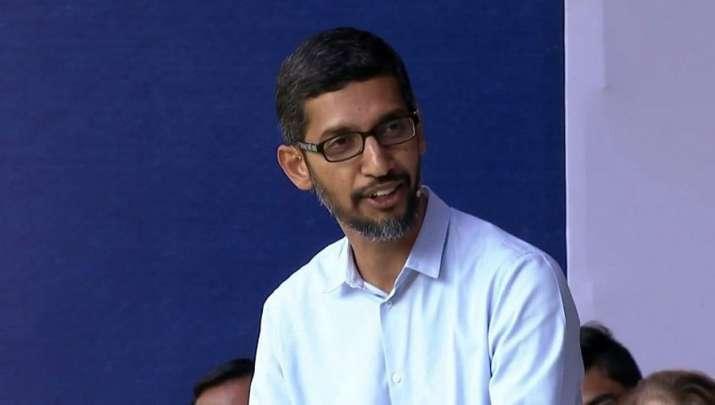 Google CEO Sundar Pichai - India TV Paisa