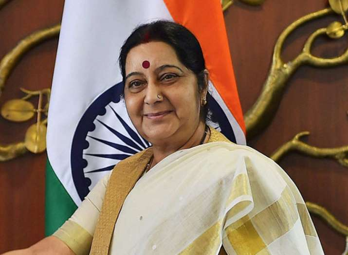 sushma swaraj- Khabar IndiaTV
