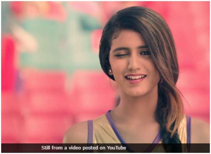 प्रिया प्रकाश- Khabar IndiaTV