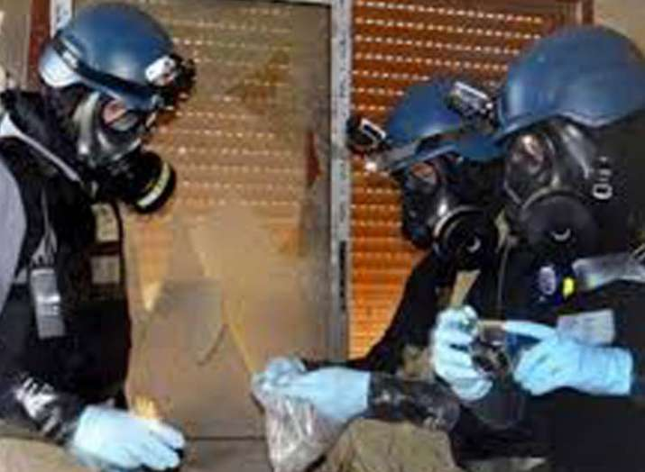 Chemical Weapons Investigators Get Approved To...- India TV