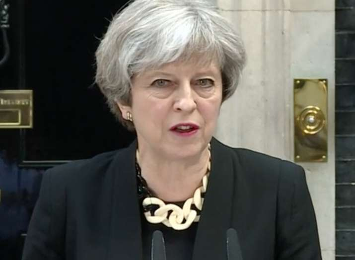 Theresa May said the attacks on Syria are ethical and...- Khabar IndiaTV
