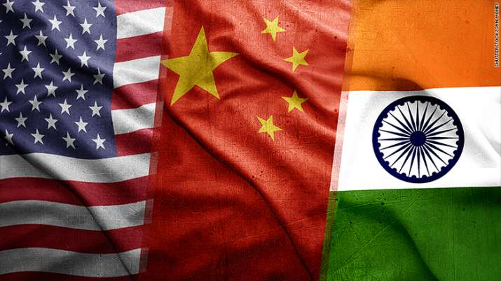 US China India Flag- India TV Paisa