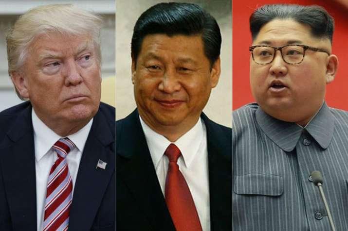 Donald Trump Xi Jinping and Kim Jong Un | AP Photos- Khabar IndiaTV