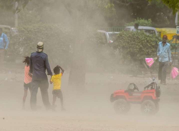dust storm- India TV