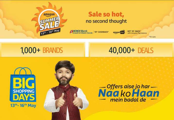 Summer Sale of Amazon and Flipkart- India TV Paisa