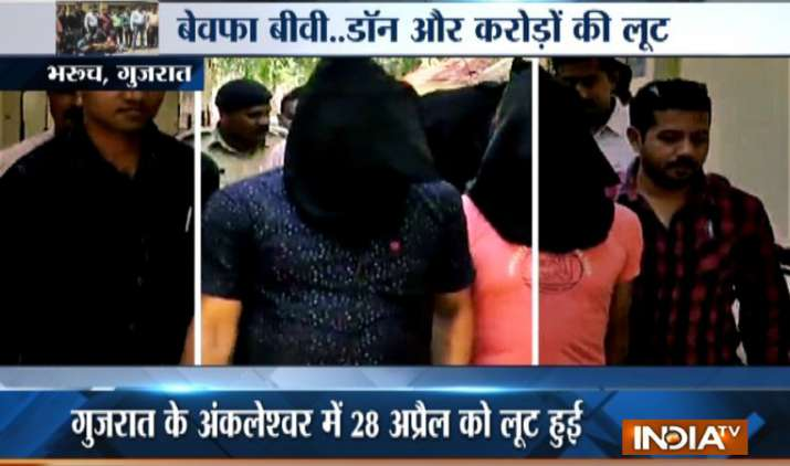 Gujarat: Wife arrested with boyfriend in Bharuch for looting her husband- India TV
