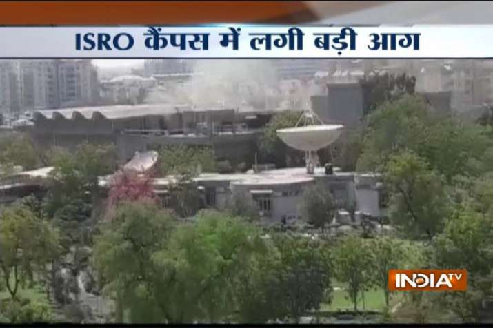 ISRO Centre Ahmedabad Fire breaks out - India TV