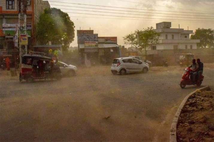Mathura storm- India TV