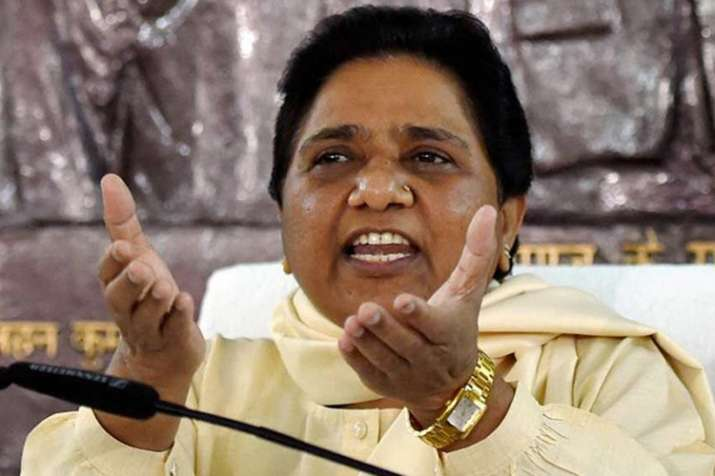 Mayawati accuses BJP of conspiring to destroy Constitution- Khabar IndiaTV