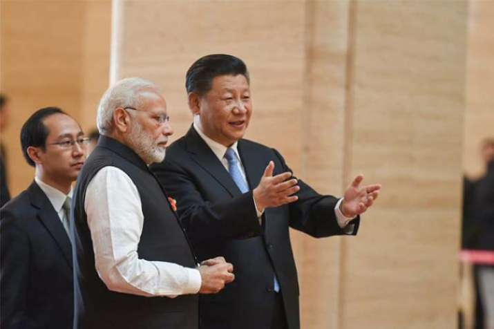 pm modi and xi jinping- India TV