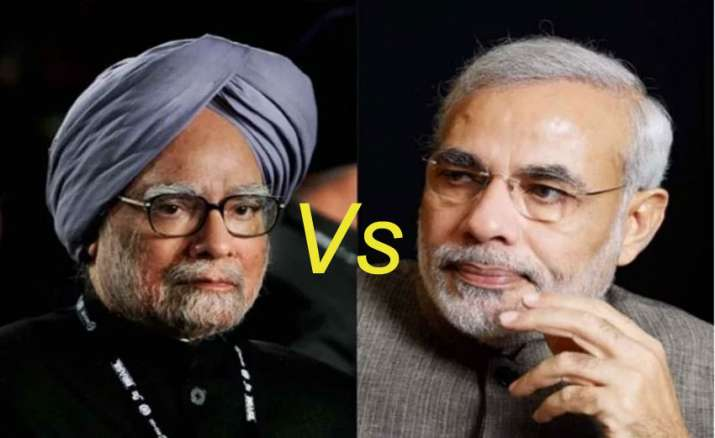 Modi Vs Manmohan- India TV Paisa