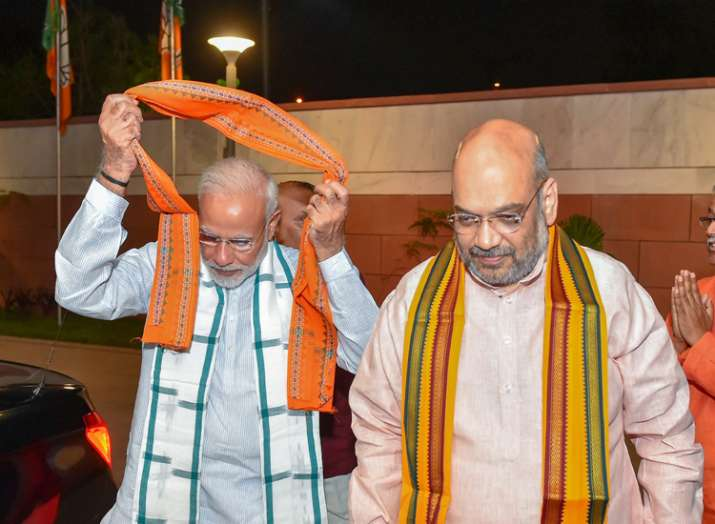 pm modi and amit shah- Khabar IndiaTV
