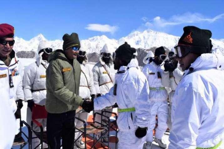 President kovind siachine- India TV