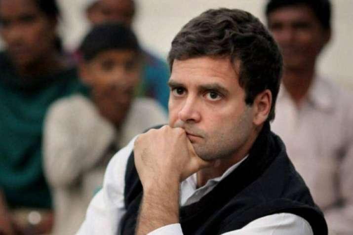 BJP making a mockery of Constitution in Karnataka: Rahul Gandhi- India TV