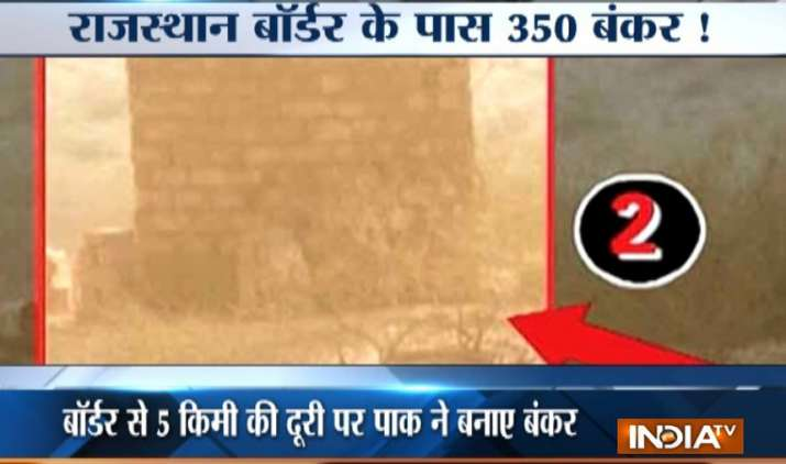 China building bunkers, military infrastructure for Pakistan along Rajasthan border- India TV