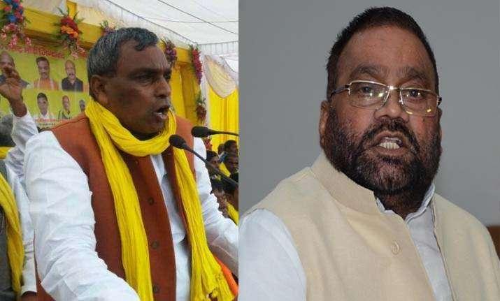 """Yogi's minister Om Prakash Rajbhar told Swami Prasad Maurya, """"Jinnah's relative""""- India TV"""