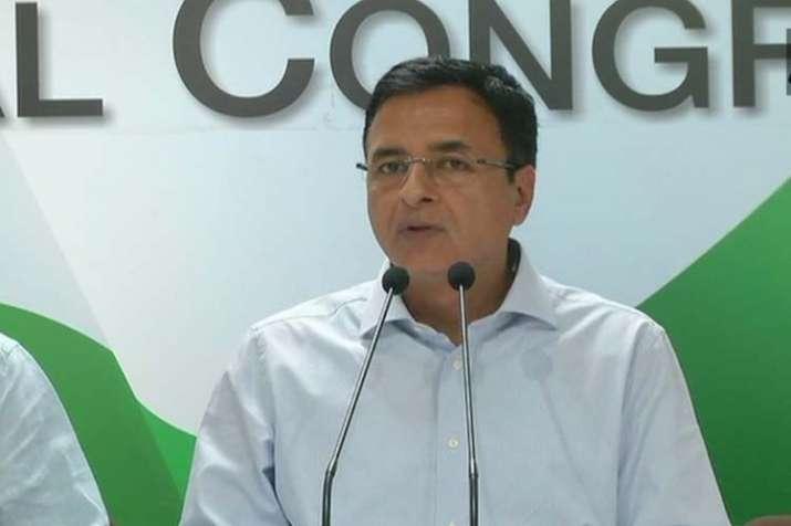 Randeep Surjewala congress- Khabar IndiaTV