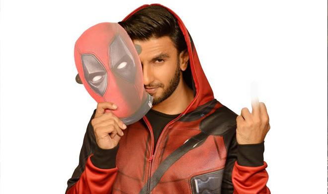 रणवीर सिंह- डेडपूल 2- India TV