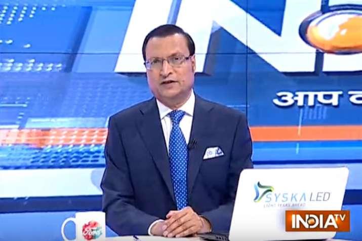Rajat Sharma- Khabar IndiaTV