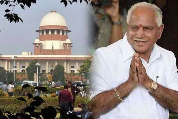 Karnataka: Crucial test in Supreme Court for Yeddyurappa- India TV