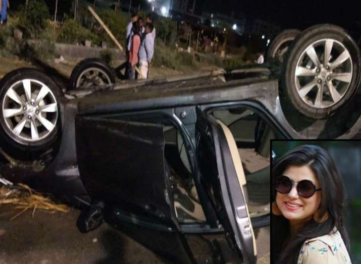 tania khanna dies after car plunges into drain in...- India TV