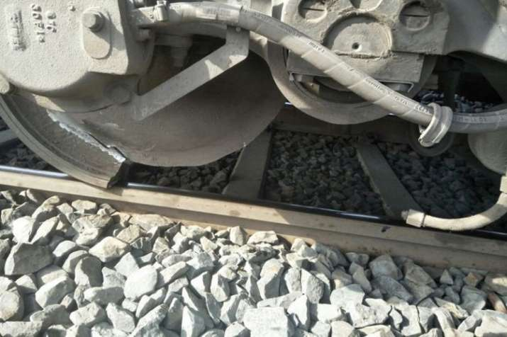 Major accident avoided; train's wheel divided into two parts- India TV