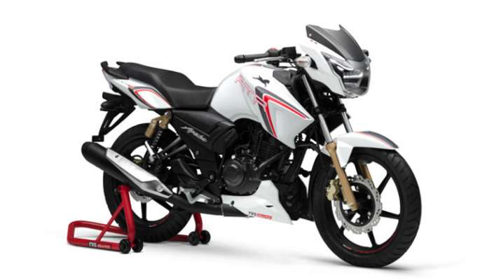 TVS Apache RTR 180 Race Edition launched- India TV