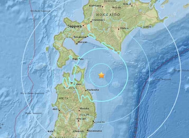 5.3 earthquake in Japan no news of loss of life and...- Khabar IndiaTV