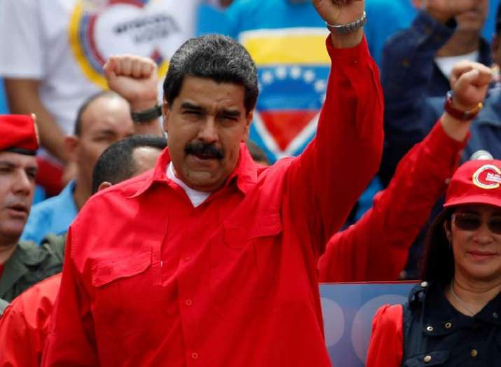 Nicholas Maduro won in the presidential election in...- India TV