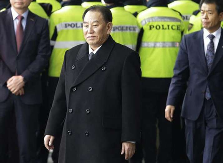 North Korea Kim Yong-chol in US for meeting with Mike...- India TV