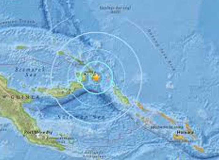 6.2 magnitude earthquake in papua new guinea- India TV