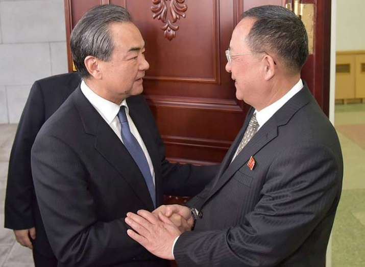 china foreign minister meets north korean dictator kim...- India TV
