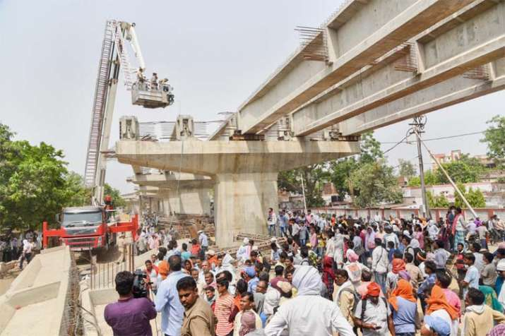 Varanasi Flyover Tragedy- Khabar IndiaTV