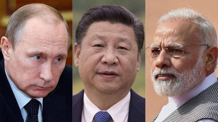 Vladimir Putin, Xi Jinping and Narendra Modi- India TV