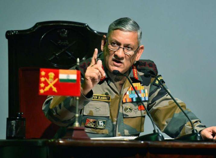 Army Chief Bipin Rawat (File Pic)- India TV