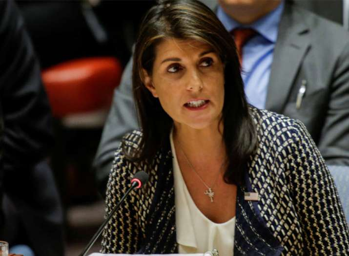 Nikki Haley warns Pakistan against sheltering terrorists...- India TV