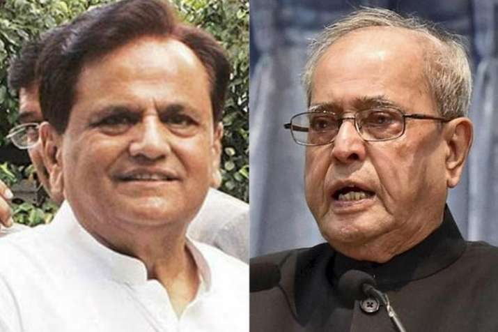 Ahmed Patel and Pranab Mukherjee | PTI Photos- India TV