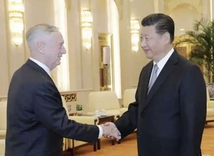 US Defense Secretary meets with Chinese President Xi in...- India TV