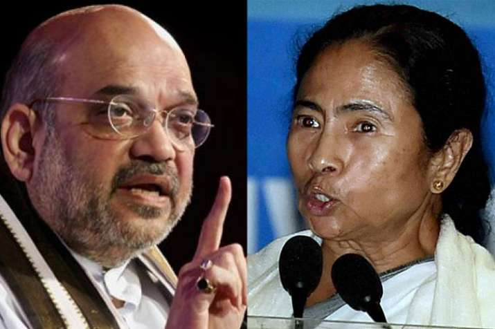 Amit Shah and Mamata Banerjee | PTI- India TV