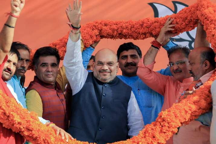 Amit Shah in Jammu: 'No conspiracy of Congress can separate Jammu and Kashmir from India'- India TV