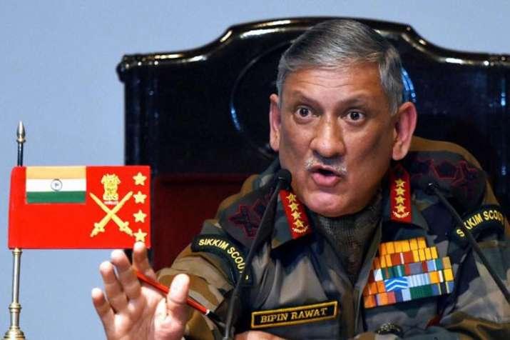 Indian Army operating with people friendly rules of engagement, says General Bipin Rawat | PTI- India TV