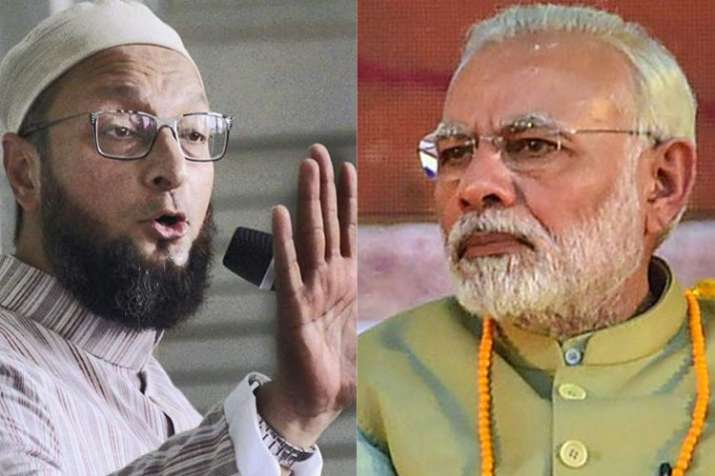 AIMIM chief Asaduddin Owaisi challenges PM Modi, Amit Shah to contest from Hyderabad | PTI- India TV