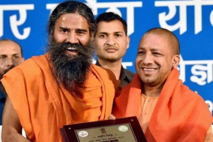 Baba Ramdev with Yogi Adityanath- India TV Paisa