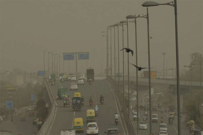 Delhi Air pollution- Khabar IndiaTV
