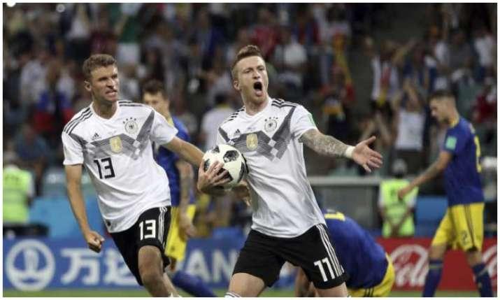 जर्मनी की टीम मैच हार...- India TV