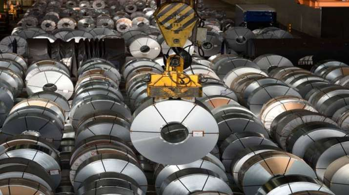 India finished steel export fall 25 percent in April- India TV Paisa