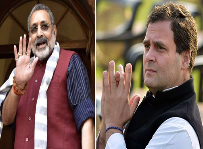 giriraj singh and rahul gandhi- India TV