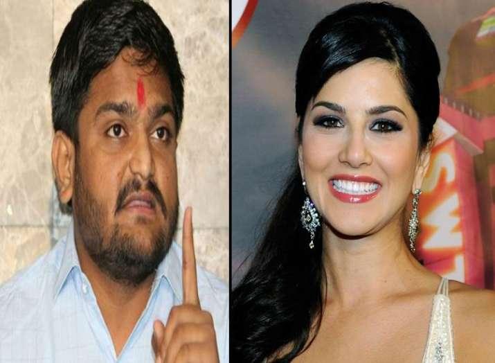 hardik patel and sunny leone- India TV