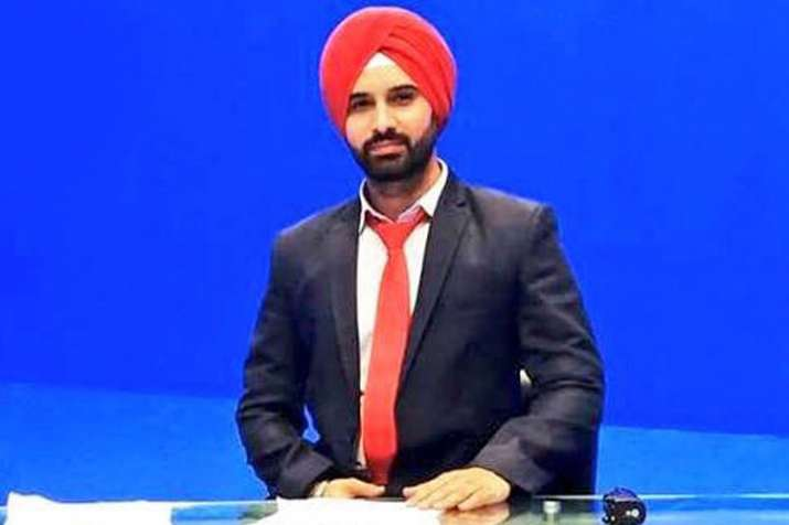 Harmeet Singh to become the first Sikh news anchor in Pakistan | Twitter- India TV